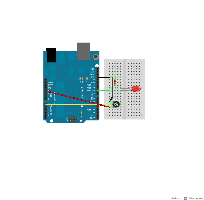 Using mosfets and pwm on the arduino tangibles studio